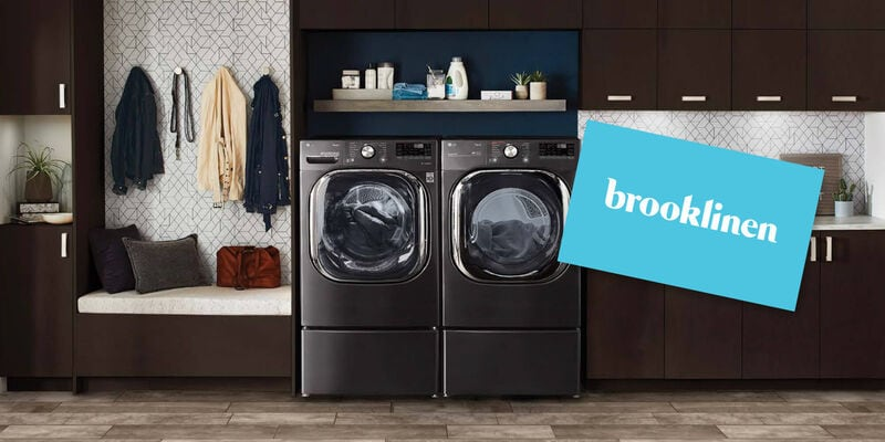 LG Washer & Dryer and Brooklinen Gift Card