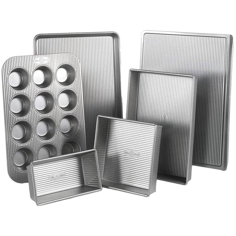 USA PAN Six Piece Bakeware Sets