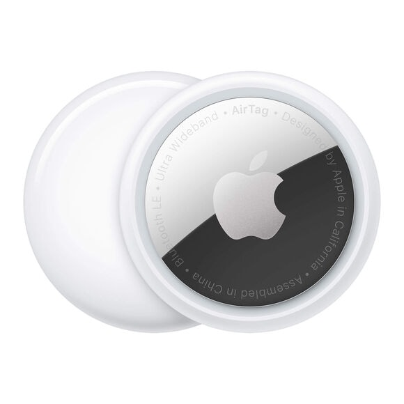 New Silver and White Apple AirTag