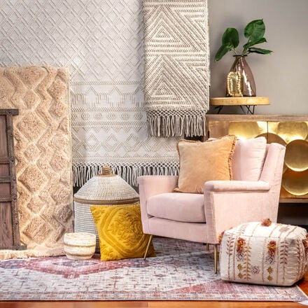 Spread of different Home Decor items found at NFM