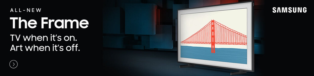 All New The Frame | Samsung TV when it's on. Art When it's off