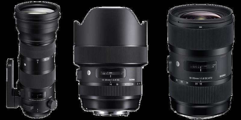 Sigma Camera Lenses