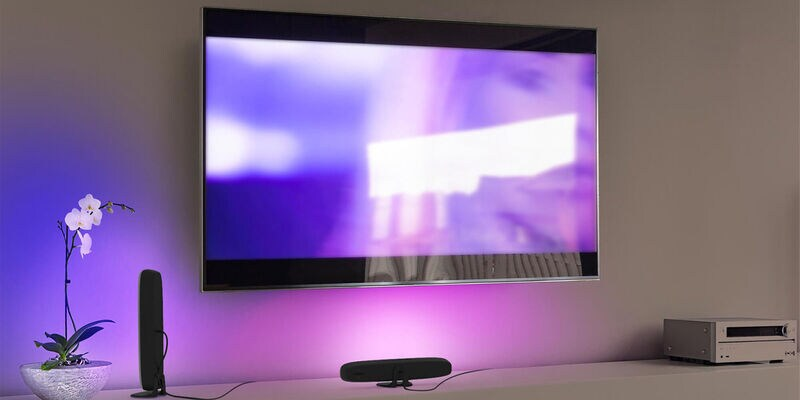 Nanoleaf, Monster, and Philips Hue Smart Lighting