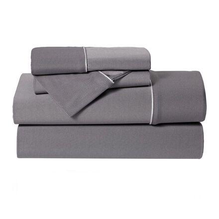 Bedgear Dri-Tec Queen Performance Sheet Set in Grey