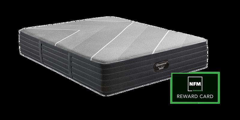 Simmons Beautyrest Black Hybrid X-Class Plush Queen Mattres and NFM Reward Card