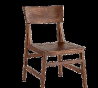Home Trends & Design London Loft 6-Piece Dining Set in Walnut and Antique Zinc