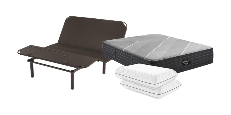Mattress, Adjustable Base and Pillows