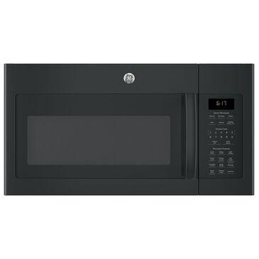 GE Appliances 1.7 Cu. Ft. Over-the-Range Microwave with Sensor in Black, Black, large