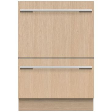 """Fisher and Paykel 24"""" Tall Double Dish Drawer Dishwasher in Panel Ready, , large"""