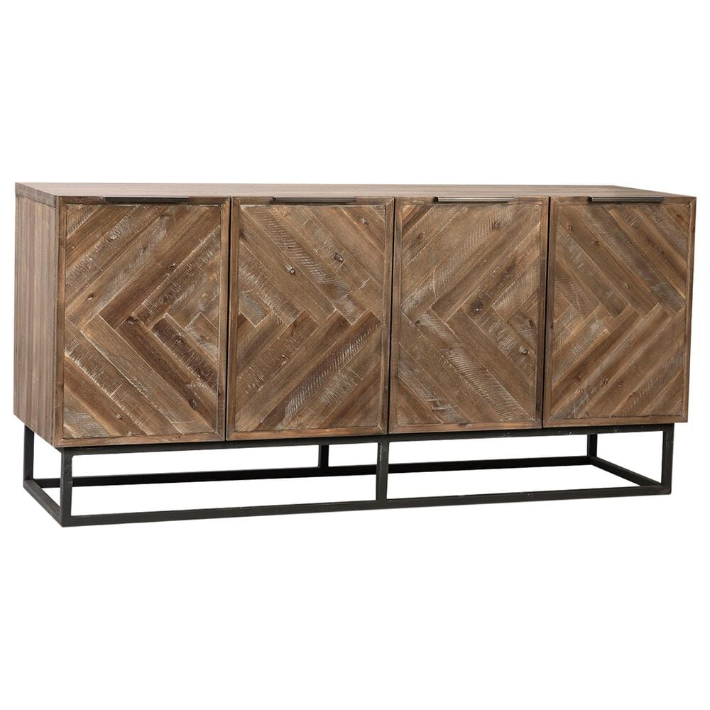 Blue Sun Designs Holbrook Sideboard in Brown, , large