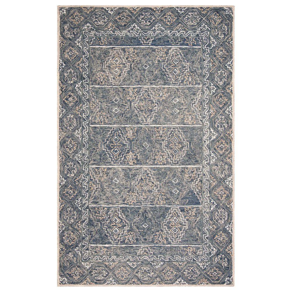 Safavieh Aspen 4' x 6' Blue and Beige Area Rug, , large