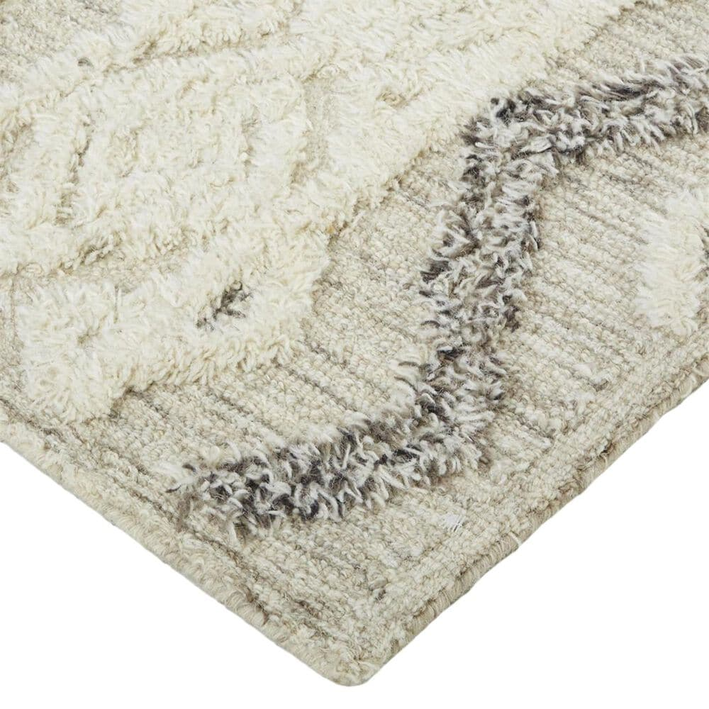 Feizy Rugs Anica 8006F 2' x 3' Gray Area Rug, , large