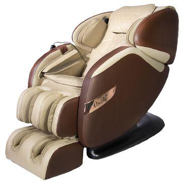 Osaki OS-Champ Zero Gravity Massage Chair in Brown/Beige, , large