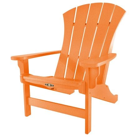 The Hammock Source Sunrise Adirondack Chair in Orange