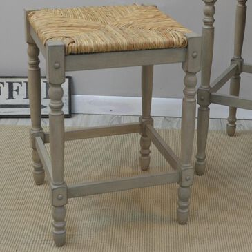 """Carolina Cottage French Country 29"""" Bar Stool in Weathered Gray, , large"""