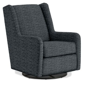 Best Home Furnishings Brianna Swivel Glider in Charcoal Gray, , large