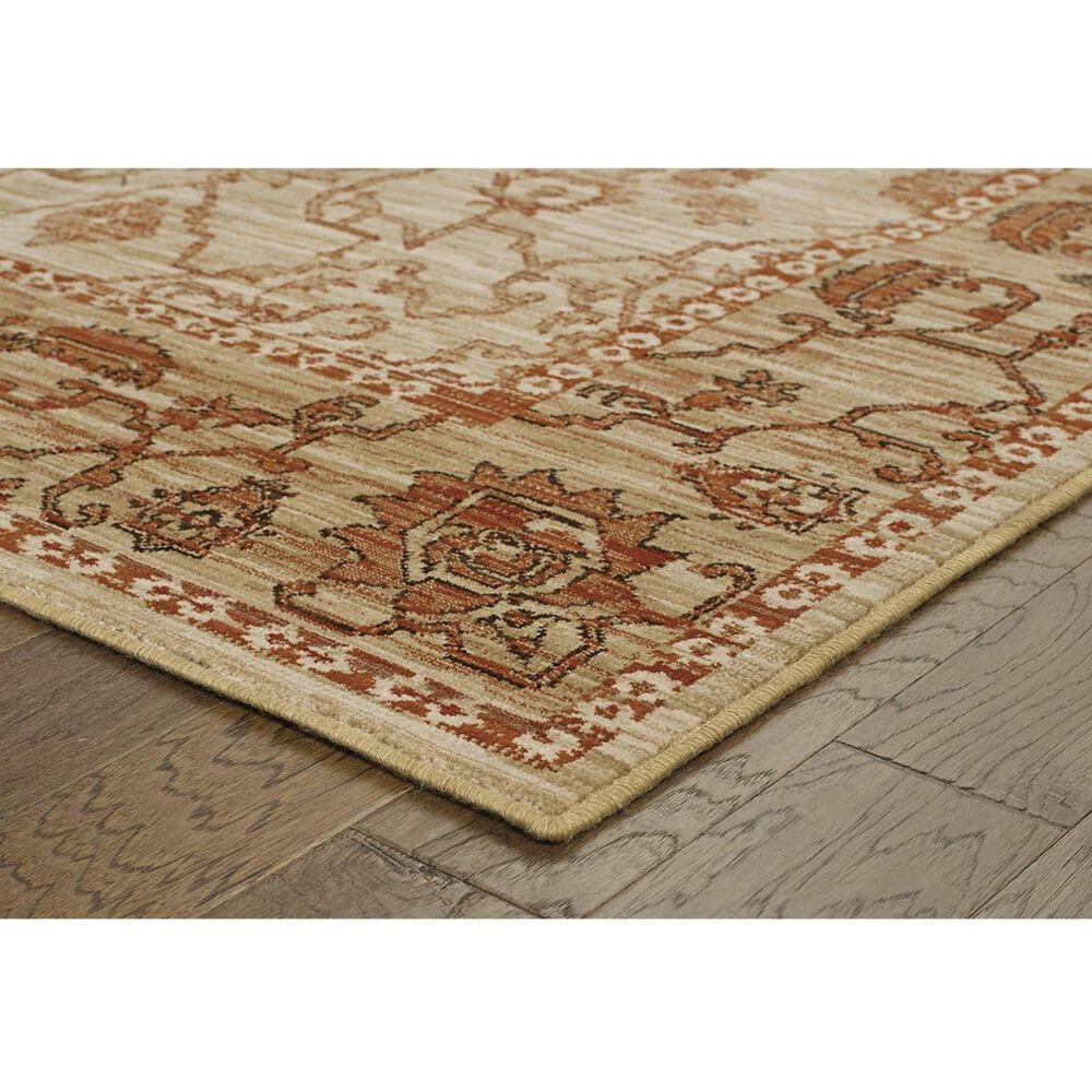 "Oriental Weavers Vintage 4928J 1'10"" x 3'3"" Beige Area Rug, , large"