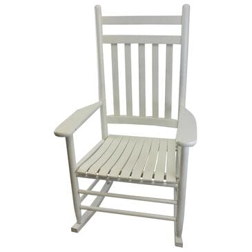 Lakeside Penrose Rocking Chair in Antique White, , large
