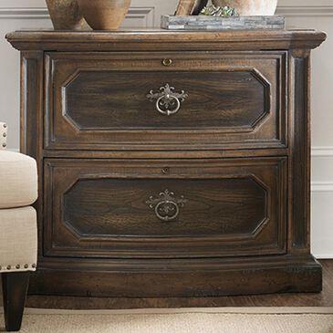 Hooker Furniture Leming Lateral File in Dark Wood, , large