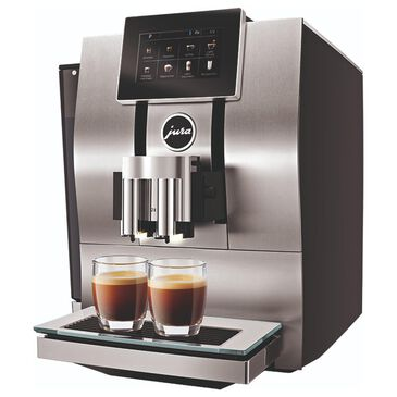 Jura Z8 Automatic Coffee Machine in Black and Stainless Steel, , large