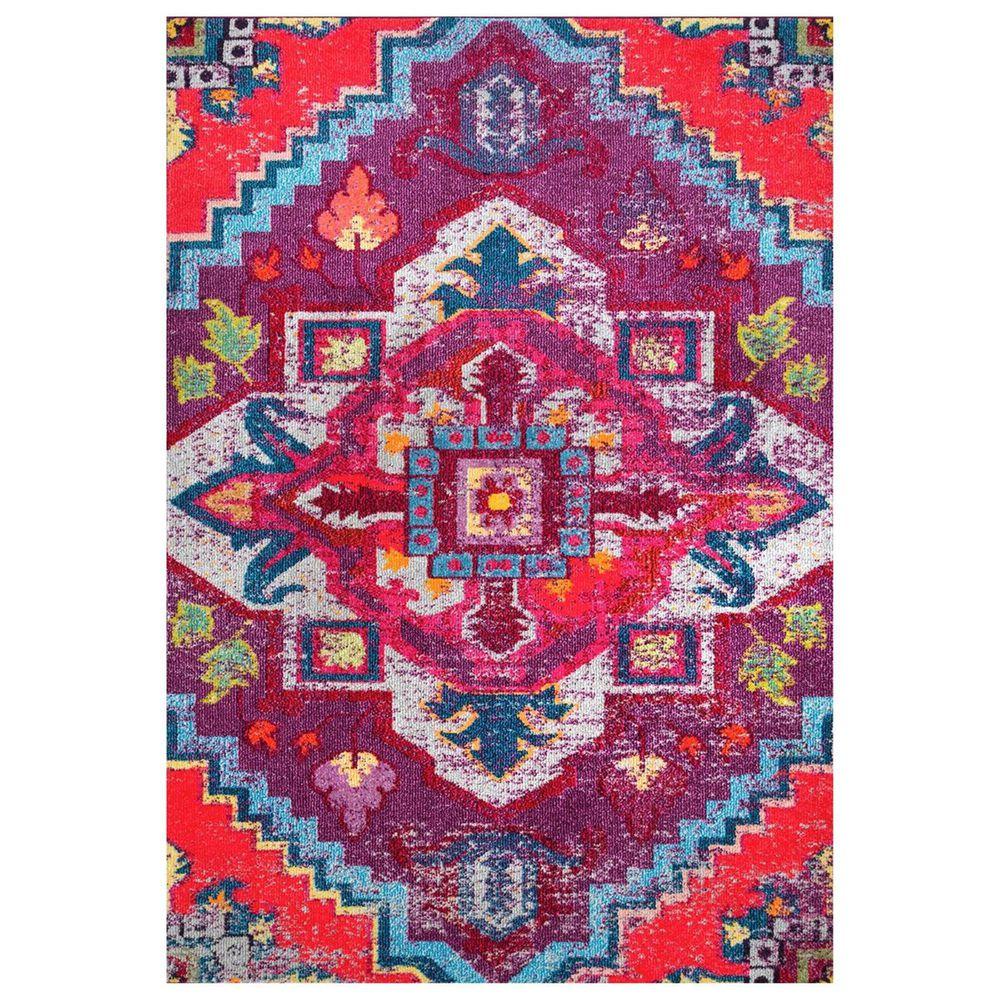 nuLOOM Bella KSBL07A 5' x 8' Purple Area Rug, , large
