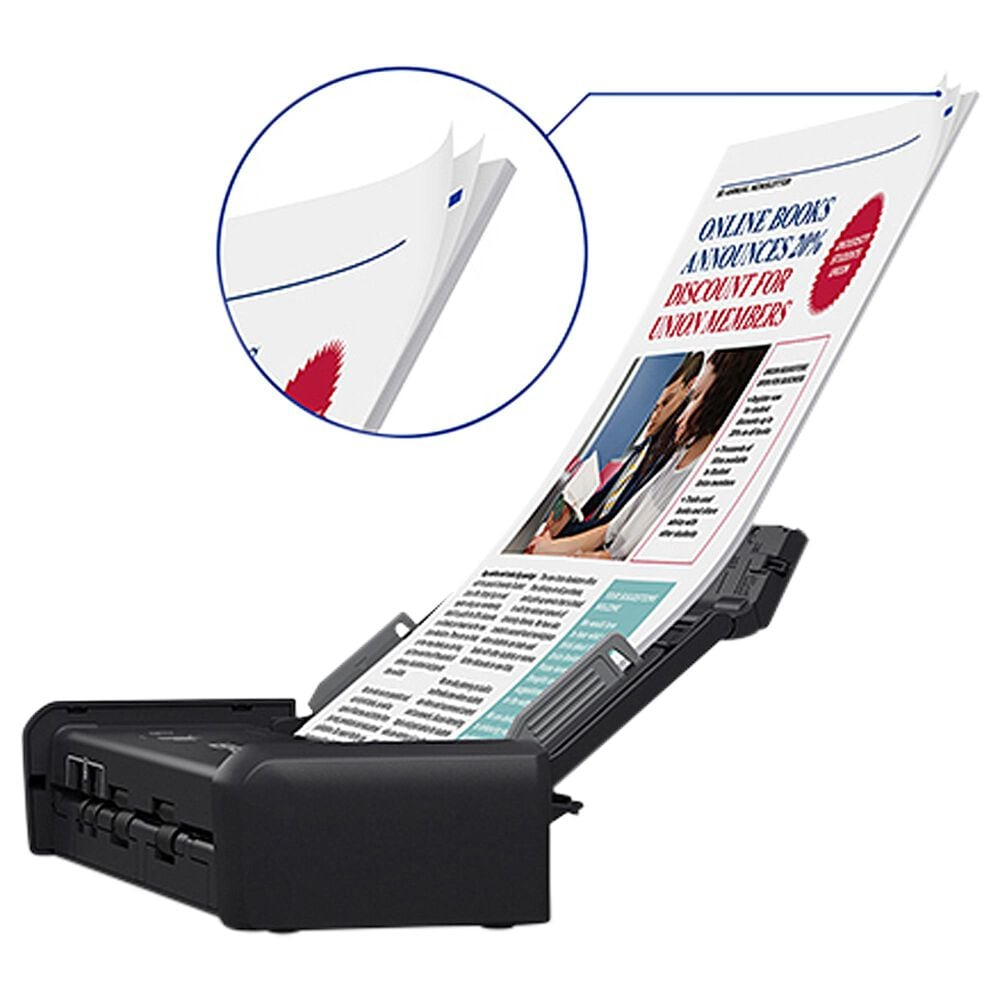 Epson ES-200 Portable Duplex Document Scanner with ADF, , large
