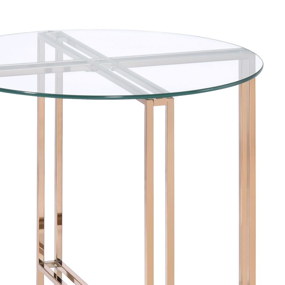 Gunnison Co. Veises End Table in Champagne, , large
