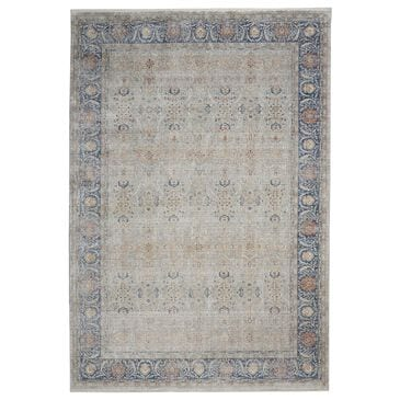 Nourison Starry Nights STN08 8' x 10' Grey Area Rug, , large