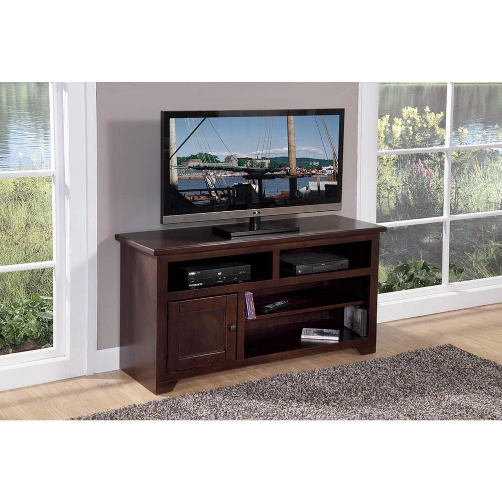 """Hickory Point 50"""" Sonoma TV Stand in Espresso Pine, , large"""