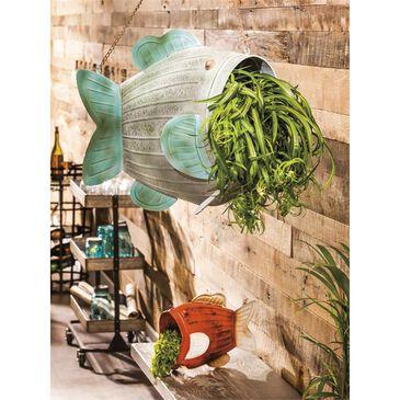 Evergreen Garden 2-Piece Hanging Planter Set in Multicolor, , large