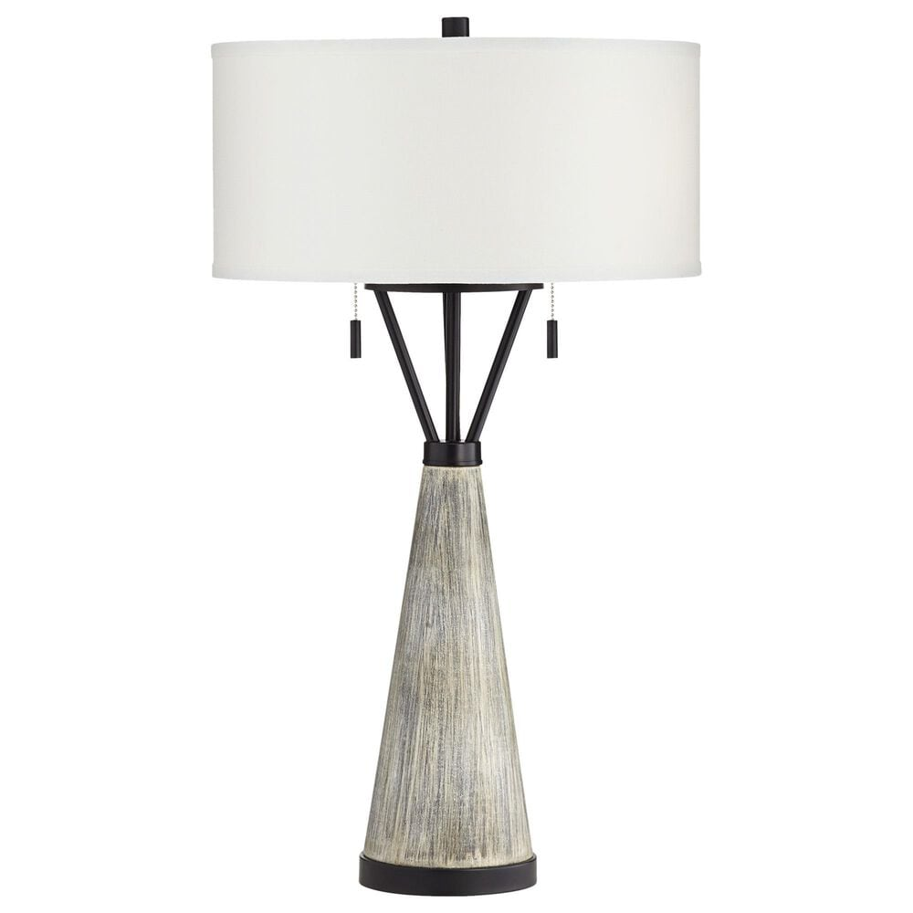 Pacific Coast Lighting Oakland Table Lamp in Gray Wash, , large