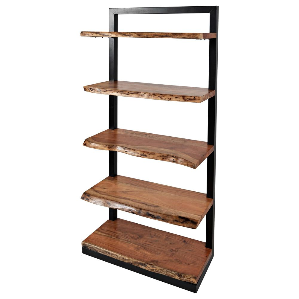 Waltham Nature's Edge 5-Shelf Bookcase in Natural, , large
