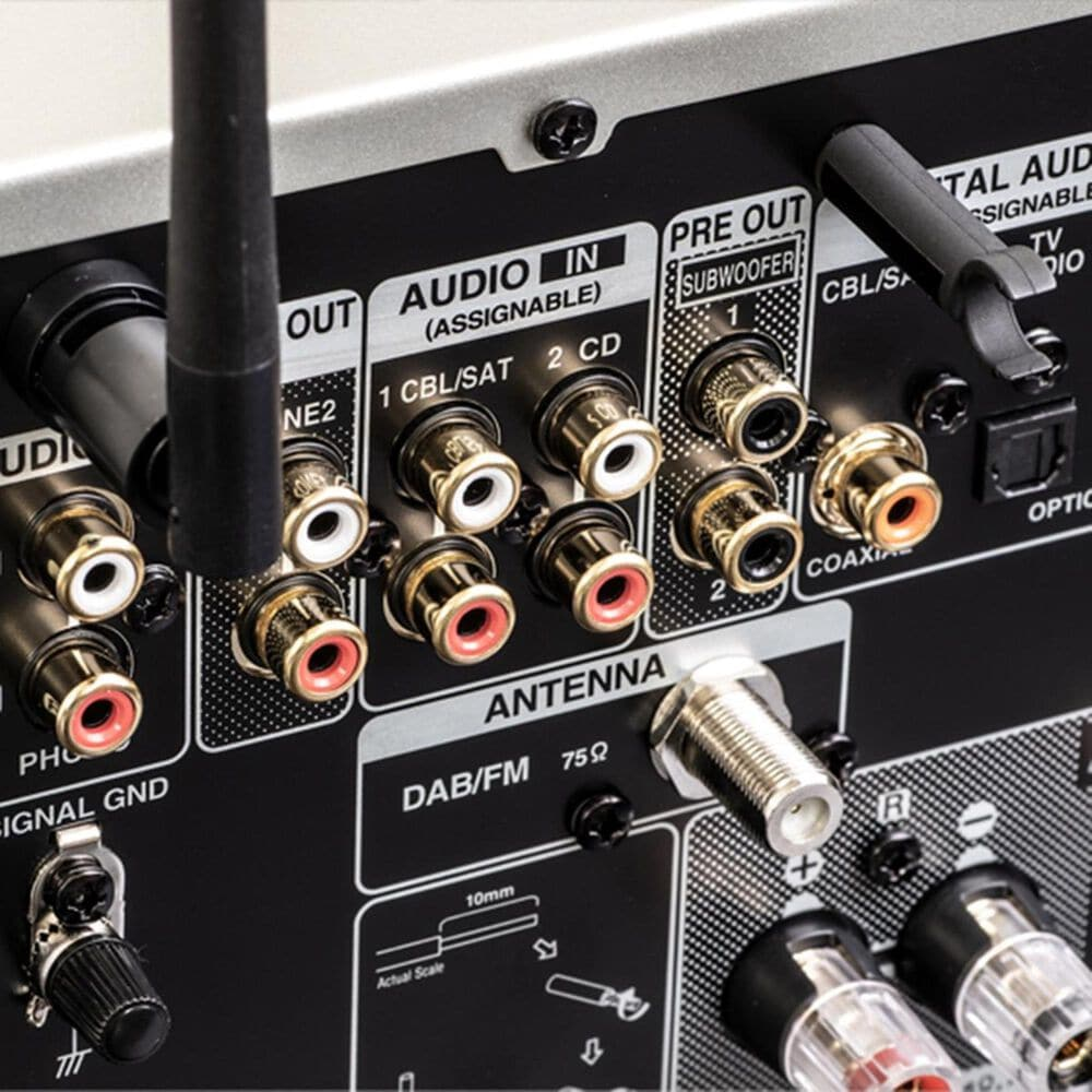 Denon 2.1 Channel Hi-Fi Network Receiver in Black, , large