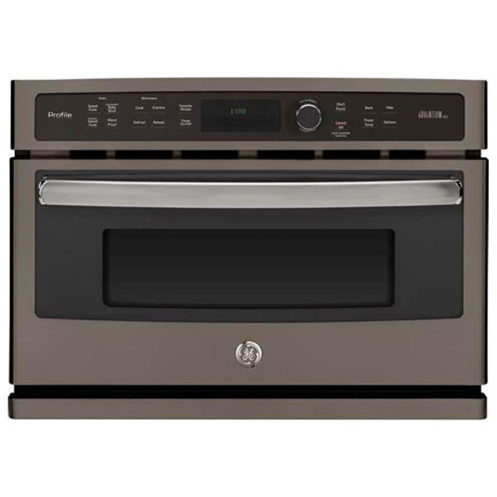 "GE Profile 27"" Single Wall Oven Advantium Technology - Slate, , large"