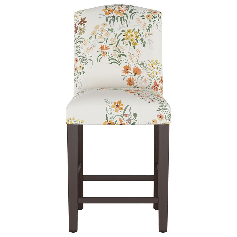 Skyline Furniture Counter Stool in Lucinda Floral Harvest, , large