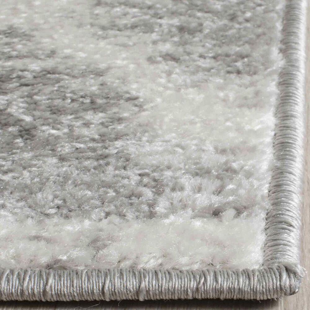 Safavieh Adirondack ADR120B 3' x 5' Silver and Ivory Area Rug, , large