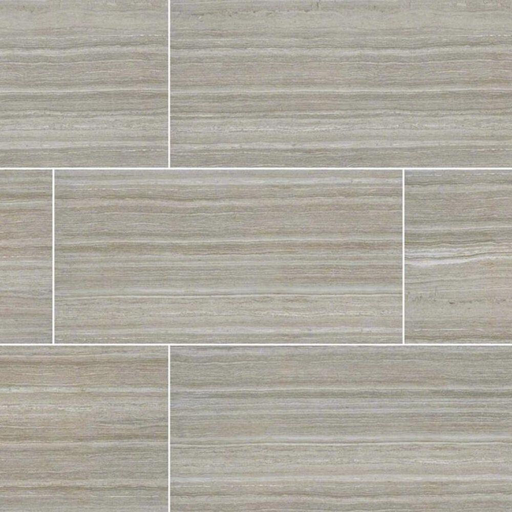 "MS International Essentials Charisma Silver 12"" x 24"" Ceramic Tile, , large"