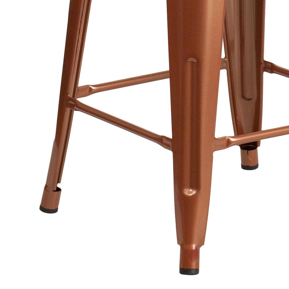 """Flash Furniture 24"""" Counter Stool in Brown, , large"""