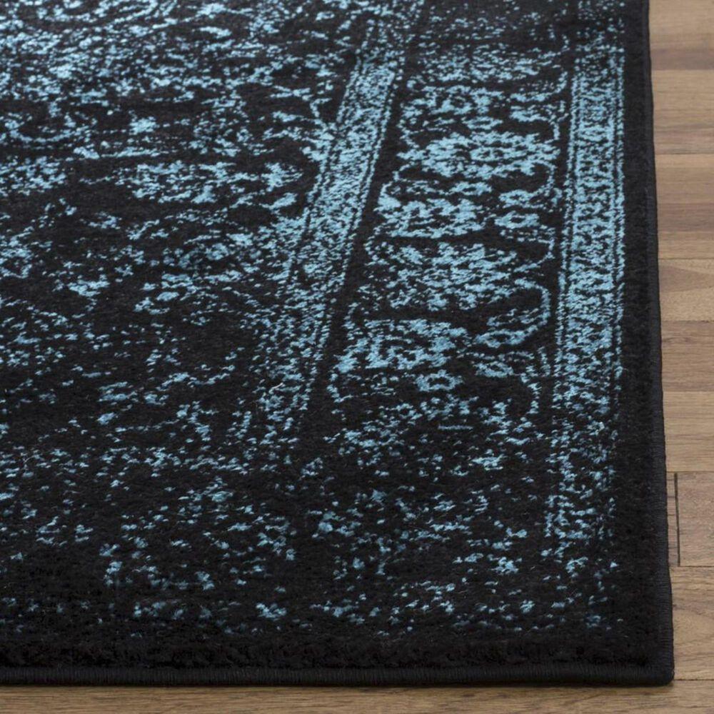 Safavieh Adirondack ADR109K 4' x 6' Black and Teal Area Rug, , large