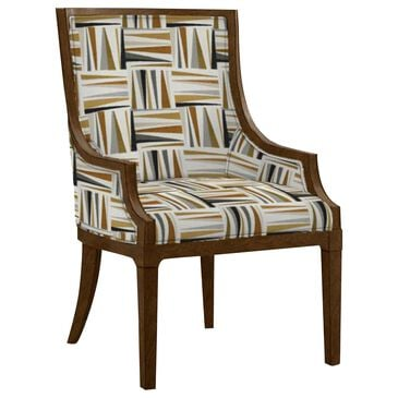 Lexington Furniture Aqua Bay Chair in Gold, Silver, Black and Cream, , large