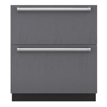 Sub Zero 5.2 Cu. Ft. Integrated Double Drawer Refrigerator (Panel Required), , large