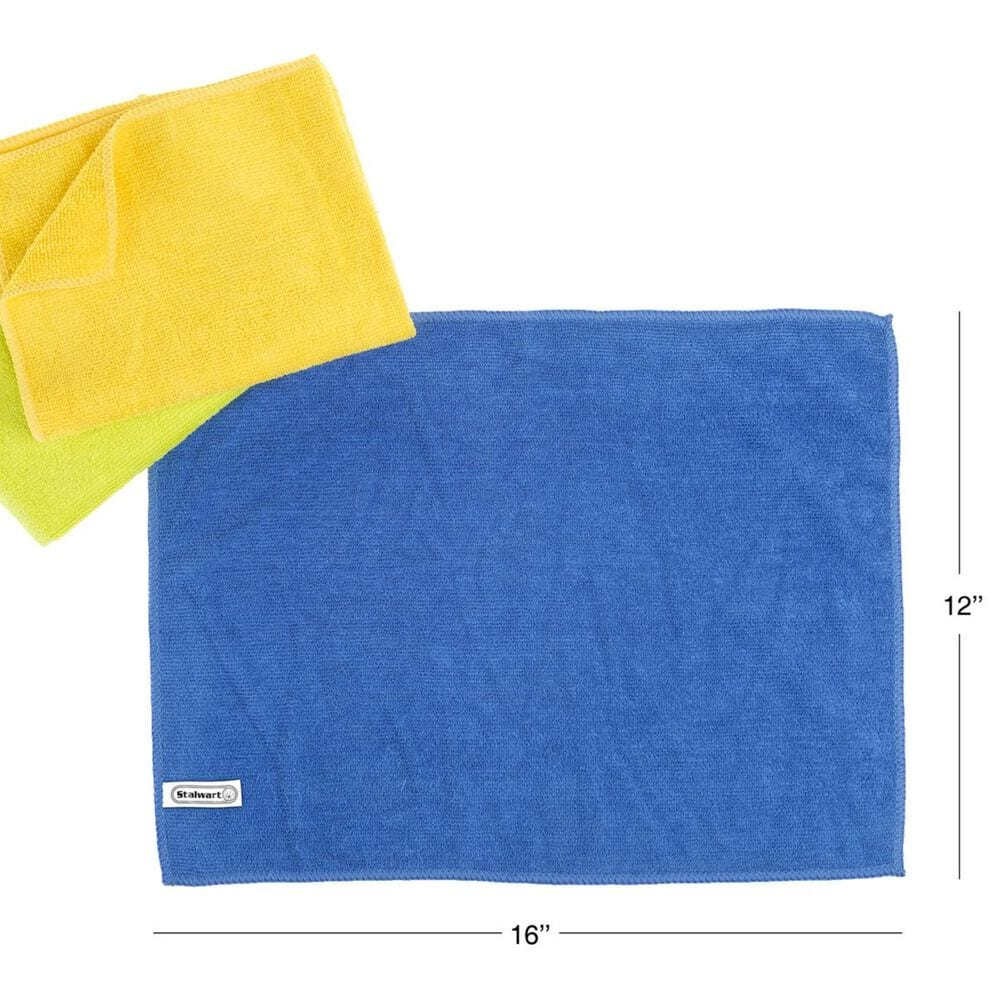Timberlake Stalwart 36-Piece Microfiber Cleaning Towels, , large