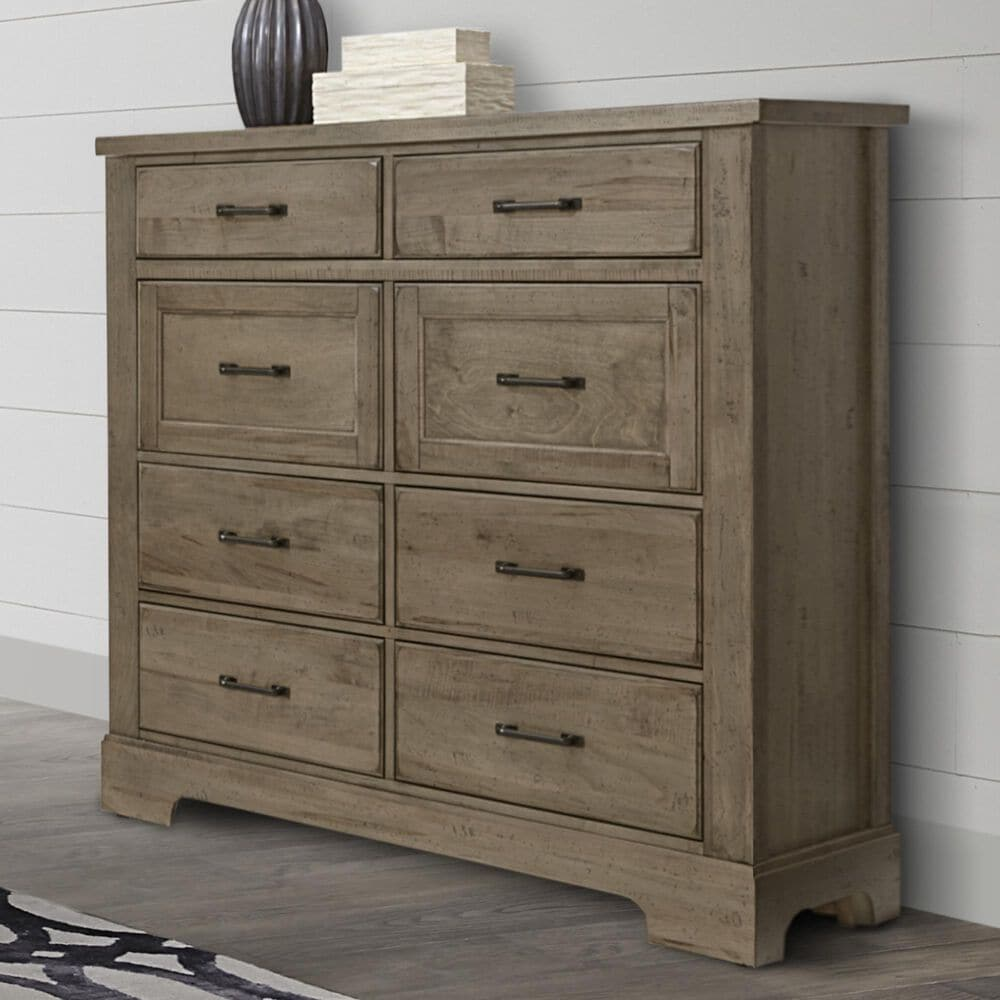 Viceray Collections Cool Rustic Linen Chest in Stone Grey, , large