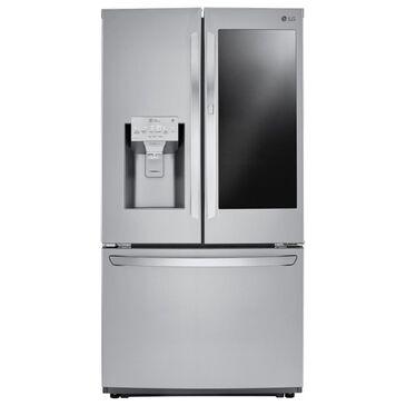 LG 26 Cu. Ft. Smart Wi-Fi Enabled InstaView Door-in-Door Refrigerator in Stainless Steel , , large