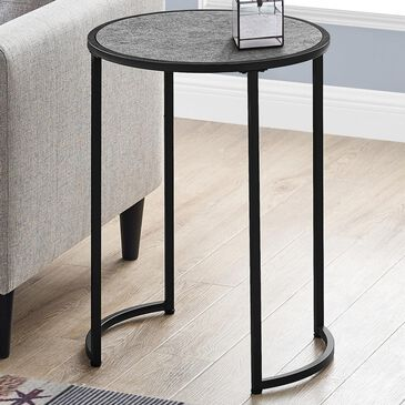 "Monarch Specialties Ht 24"" Accent Table in Grey, , large"