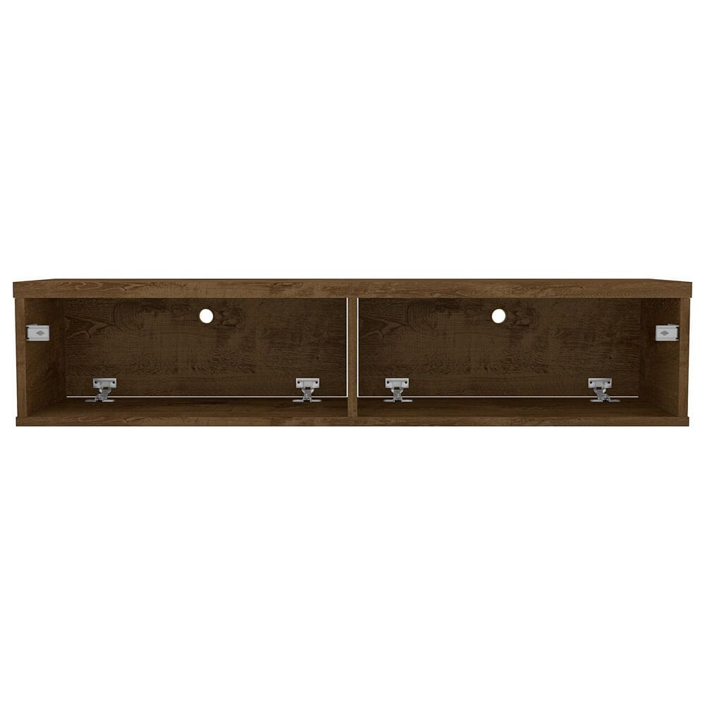 """Manhattan Liberty 42.28"""" Floating Entertainment Center in Rustic Brown, , large"""