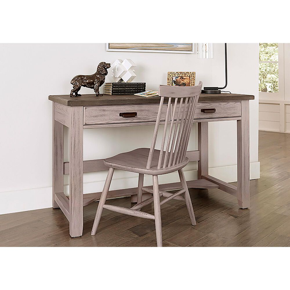 Viceray Collections Bungalow Laptop Desk in Dover Grey and Folkstone, , large