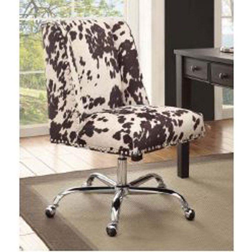 Linden Boulevard Draper Udder Office Chair in Madnees Black, , large