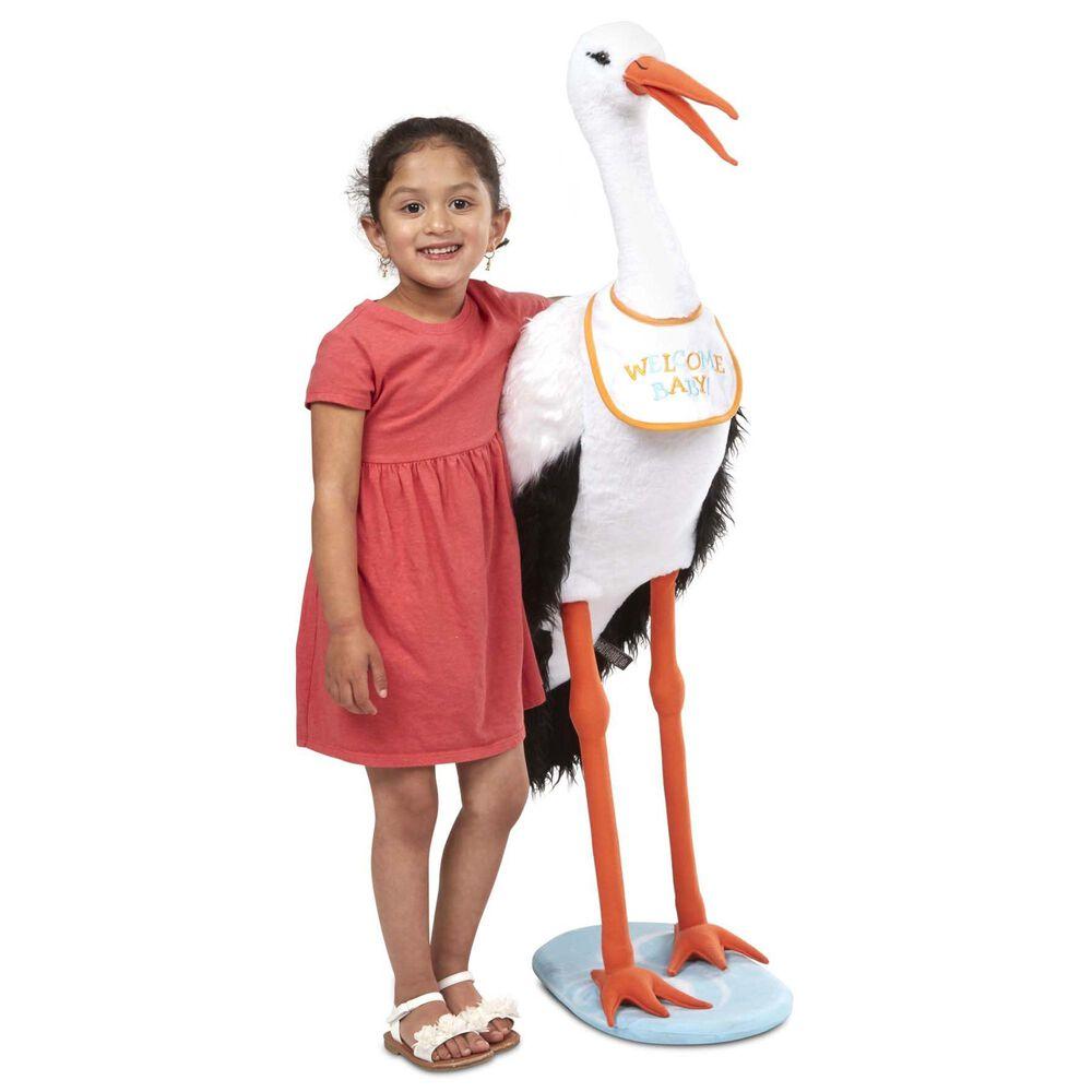 Melissa & Doug Lifelike Plush Stork Stuffed Animal, , large