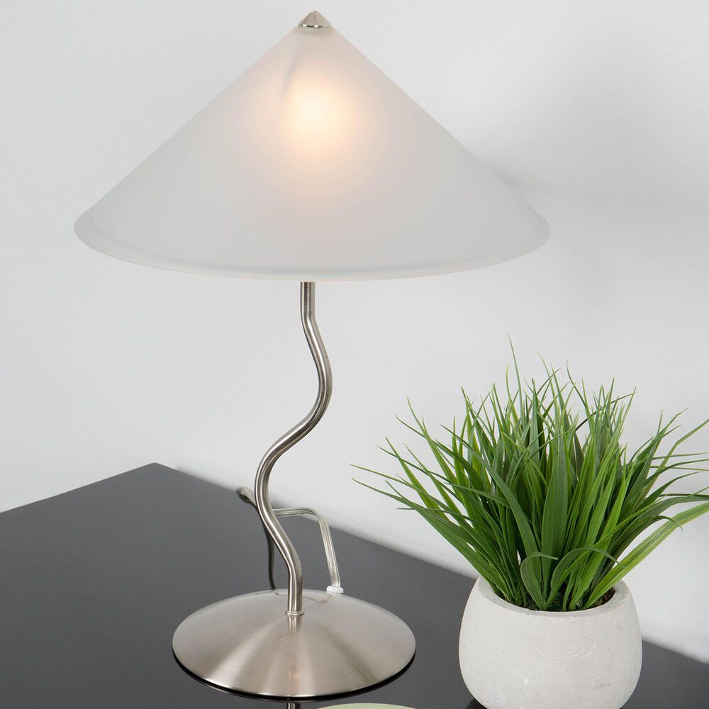 Lumisource Doe Li Desk Lamp in Brushed Satin, , large
